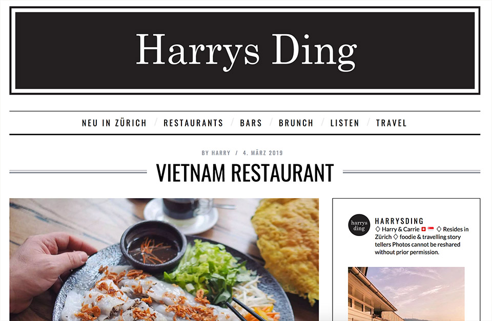 Harrys Ding