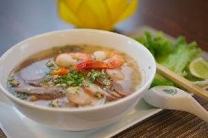 Hu Tieu (Saigon Nudelsuppe) / Kho